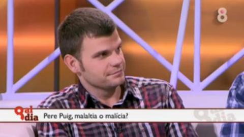 """8 al Dia de 8TV, """"L'assassí d'Olot: malaltia o malícia?"""" (13/12/2011)"""