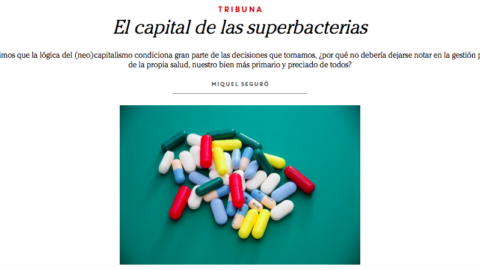 El capital de las superbacterias