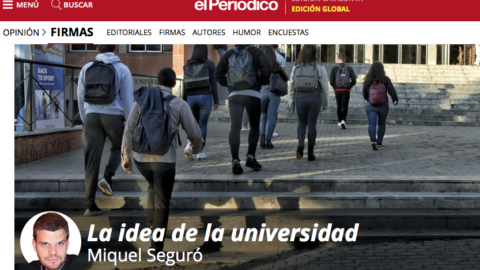 La idea de la universidad